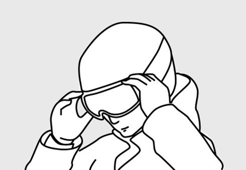 Запасные части для шлема HEAD R series vent clip black
